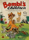 Cover for Four Color (Dell, 1942 series) #30 - Bambi's Children