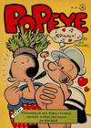 Cover for Four Color (Dell, 1942 series) #168 - Popeye