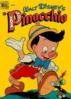 Cover for Four Color (Dell, 1942 series) #252 - Walt Disney's Pinocchio