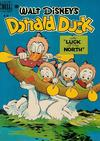 "Cover for Four Color (Dell, 1942 series) #256 - Walt Disney's Donald Duck in ""Luck of the North"""