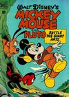 Cover for Four Color (Dell, 1942 series) #279 - Walt Disney's Mickey Mouse and Pluto Battle the Giant Ants