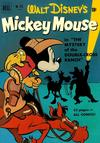 Cover for Four Color (Dell, 1942 series) #313 - Walt Disney's Mickey Mouse in The Mystery of the Double-Cross Ranch