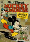 Cover for Four Color (Dell, 1942 series) #325 - Walt Disney's Mickey Mouse in the Haunted Castle