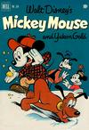 Cover for Four Color (Dell, 1942 series) #334 - Walt Disney's Mickey Mouse and Yukon Gold