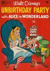 Cover for Four Color (Dell, 1942 series) #341 - Walt Disney's Unbirthday Party with Alice in Wonderland