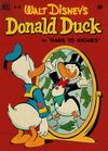 Cover for Four Color (Dell, 1942 series) #356 - Walt Disney's Donald Duck in Rags to Riches