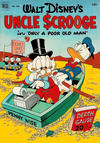 Cover for Four Color (Dell, 1942 series) #386 - Walt Disney's Uncle Scrooge in Only a Poor Old Man