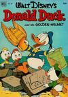 Cover for Four Color (Dell, 1942 series) #408 - Walt Disney's Donald Duck and the Golden Helmet