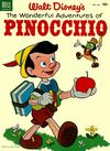 Cover for Four Color (Dell, 1942 series) #545 - Walt Disney's The Wonderful Adventures of Pinocchio