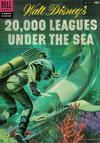 Cover for Four Color (Dell, 1942 series) #614 - Walt Disney's 20,000 Leagues Under the Sea