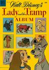 Cover for Four Color (Dell, 1942 series) #634 - Walt Disney's Lady and the Tramp Album