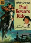 Cover for Four Color (Dell, 1942 series) #822 - Walt Disney's Paul Revere's Ride