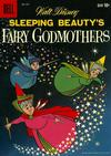 Cover for Four Color (Dell, 1942 series) #984 - Walt Disney Sleeping Beauty's Fairy Godmothers
