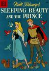 Cover for Four Color (Dell, 1942 series) #973 - Walt Disney's Sleeping Beauty and the Prince