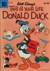 Cover for Four Color (Dell, 1942 series) #1109 - Walt Disney's This Is Your Life Donald Duck