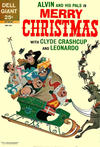 Cover for Alvin and His Pals in Merry Christmas with Clyde Crashcup and Leonardo (Dell, 1963 series) #1