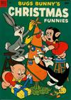 Cover for Bugs Bunny's Christmas Funnies (Dell, 1950 series) #4