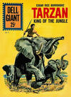Cover for Dell Giant (Dell, 1959 series) #51 - Edgar Rice Burroughs' Tarzan King of the Jungle