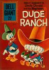 Cover for Dell Giant (Dell, 1959 series) #52 - Walt Disney's Uncle Donald and His Nephews Dude Ranch