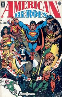 Cover Thumbnail for American Heroes (Play Press, 1991 series) #1