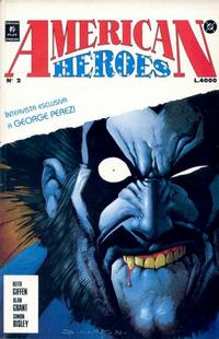 Cover Thumbnail for American Heroes (Play Press, 1991 series) #2