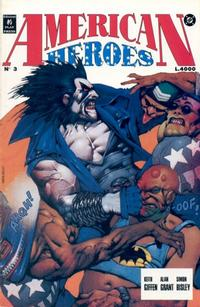Cover Thumbnail for American Heroes (Play Press, 1991 series) #3