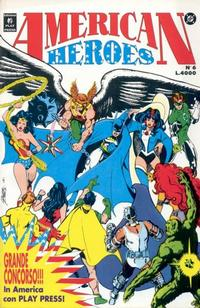 Cover Thumbnail for American Heroes (Play Press, 1991 series) #6