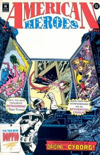Cover Thumbnail for American Heroes (Play Press, 1991 series) #9/10