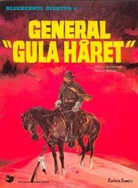 """Cover Thumbnail for Blueberrys äventyr (Carlsen/if [SE], 1979 series) #4 - General """"Gula håret"""""""