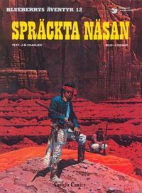 Cover Thumbnail for Blueberrys äventyr (Carlsen/if [SE], 1979 series) #12 - Spräckta Näsan
