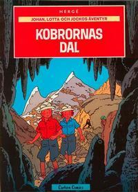 Cover Thumbnail for Johan, Lotta och Jockos äventyr (Carlsen/if [SE], 1972 series) #5 - Kobrornas dal