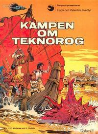 Cover Thumbnail for Linda och Valentins äventyr (Carlsen/if [SE], 1975 series) #2 - Kampen om Teknorog