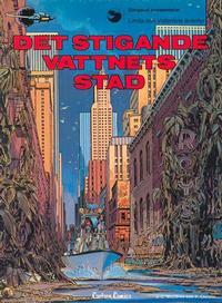 Cover Thumbnail for Linda och Valentins äventyr (Carlsen/if [SE], 1975 series) #7 - Det stigande vattnets stad