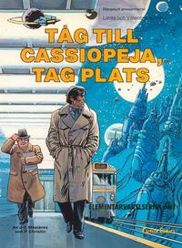 Cover Thumbnail for Linda och Valentins äventyr (Carlsen/if [SE], 1975 series) #9 -  Tåg till Cassiopeja, tag plats (Elementarvarelserna del 1)