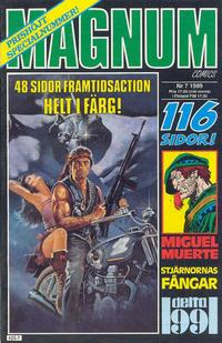 Cover Thumbnail for Magnum Comics (Pandora Press, 1988 series) #7/1989