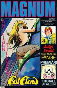 Cover Thumbnail for Magnum Comics (Pandora Press, 1988 series) #11/1989