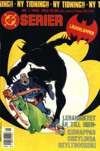 Cover Thumbnail for DC-serier (SatellitFörlaget, 1988 series) #1/1988