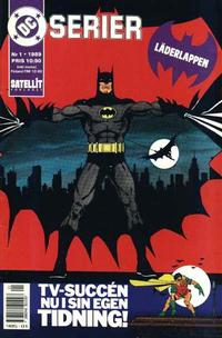 Cover Thumbnail for DC-serier (SatellitFörlaget, 1988 series) #1/1989