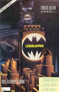 Cover Thumbnail for Läderlappen (Semic, 1987 series) #1/1987