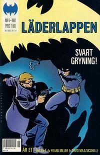Cover Thumbnail for Läderlappen (Semic, 1987 series) #6/1987