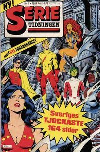 Cover Thumbnail for Serietidningen (Semic, 1984 series) #1/1984