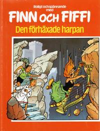 Cover Thumbnail for Finn och Fiffi (Skandinavisk Press, 1978 series) #25 - Den förhäxade harpan