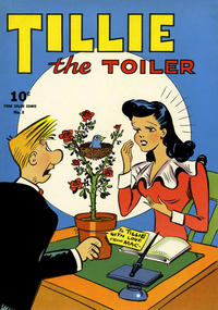Cover Thumbnail for Four Color (Dell, 1942 series) #8 - Tillie the Toiler