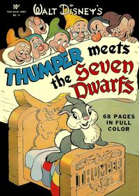 Cover Thumbnail for Four Color (Dell, 1942 series) #19 - Walt Disney's Thumper Meets the Seven Dwarfs