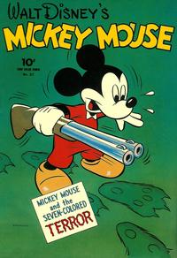 Cover Thumbnail for Four Color (Dell, 1942 series) #27 - Walt Disney's Mickey Mouse
