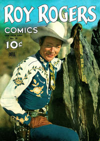 Cover Thumbnail for Four Color (Dell, 1942 series) #38 - Roy Rogers