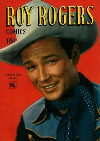 Cover Thumbnail for Four Color (Dell, 1942 series) #63 - Roy Rogers Comics