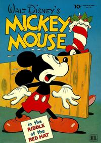 Cover Thumbnail for Four Color (Dell, 1942 series) #79 - Walt Disney's Mickey Mouse
