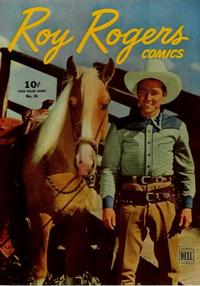 Cover Thumbnail for Four Color (Dell, 1942 series) #86 - Roy Rogers Comics