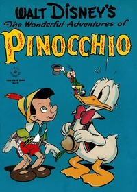 Cover Thumbnail for Four Color (Dell, 1942 series) #92 - Walt Disney's The Wonderful Adventures of Pinocchio